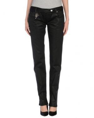 Повседневные брюки JFOUR. Цвет: черный
