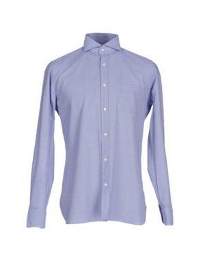 Pубашка GIAMPAOLO. Цвет: синий