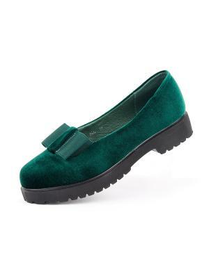 Туфли LifaMosso. Цвет: зеленый