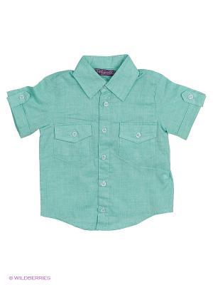 Рубашка Stilnyashka. Цвет: светло-зеленый