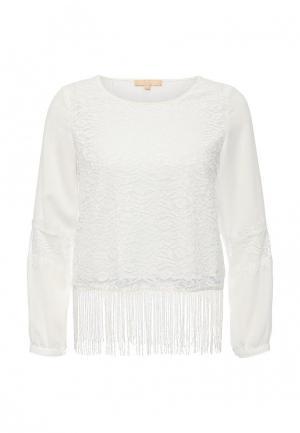 Блуза By Swan. Цвет: белый