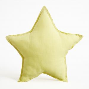 Подушка-звезда Achenza AM.PM.. Цвет: желтый лимонный