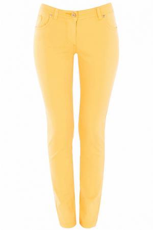 Джинсы Class Cavalli. Цвет: желтый