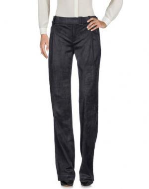 Повседневные брюки ÁERON. Цвет: свинцово-серый
