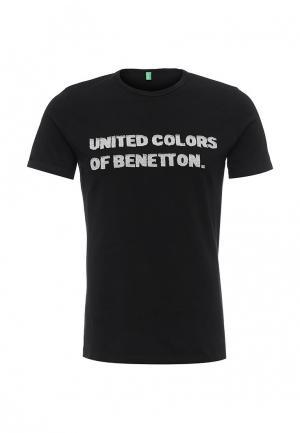 Футболка United Colors of Benetton. Цвет: черный