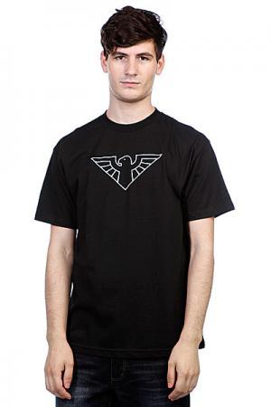 Футболка  Bird Tribute Black Zero. Цвет: черный
