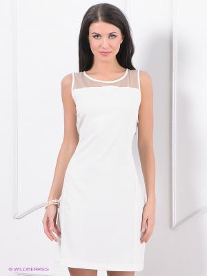 Платье Top Secret. Цвет: молочный