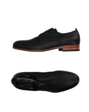 Обувь на шнурках BRUNO BORDESE. Цвет: черный