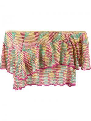 Knit crop top Cecilia Prado. Цвет: многоцветный