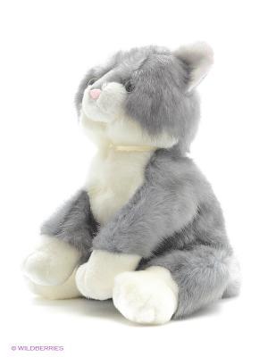 Игрушка мягкая (Chleo Cat, 23 см). Gund. Цвет: белый, серый