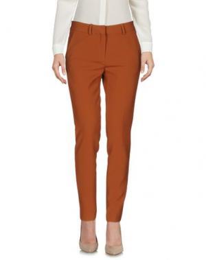 Повседневные брюки SPACE STYLE CONCEPT. Цвет: коричневый