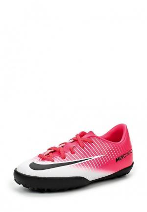 Шиповки Nike. Цвет: розовый