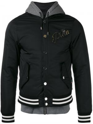 Куртка Giubbotto My Skull Philipp Plein. Цвет: чёрный