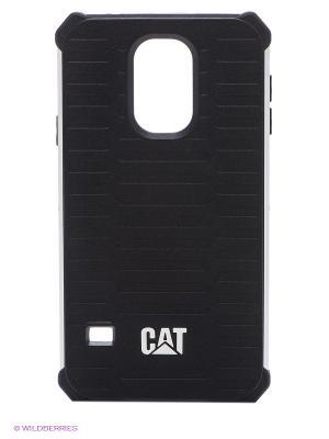 Противоударная защита для Samsung S5 Caterpillar. Цвет: черный