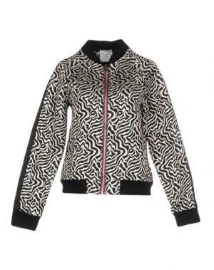 Куртка MARIUCCIA. Цвет: черный