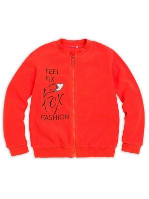 Куртка PELICAN. Цвет: оранжевый