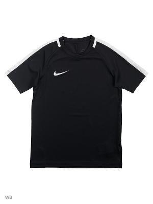 Футболка Y NK DRY ACDMY TOP SS Nike. Цвет: черный