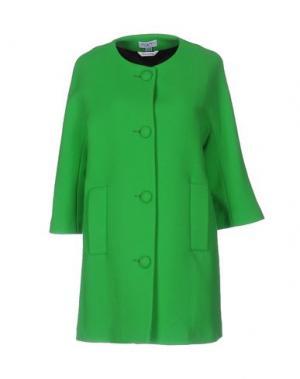 Пальто PIU' &. Цвет: зеленый