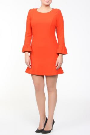 Платье Whos Who Who's. Цвет: оранжевый