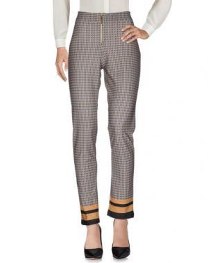 Повседневные брюки DONNA GI. Цвет: серый