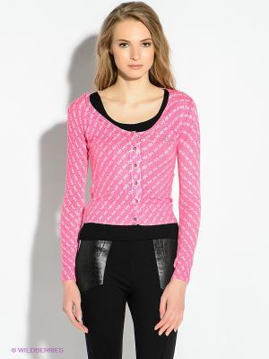 Кардиган GUESS. Цвет: розовый