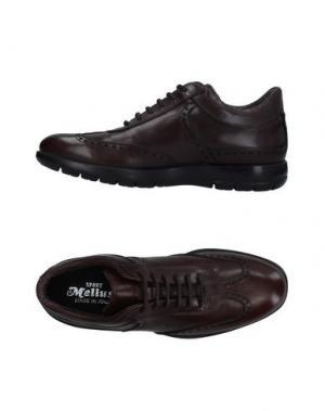 Обувь на шнурках MELLUSO. Цвет: темно-коричневый