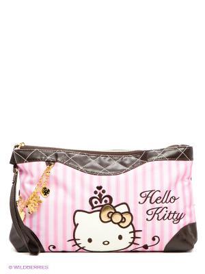 Пенал Hello Kitty. Цвет: розовый, темно-коричневый