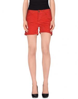 Повседневные шорты ANNARITA N.. Цвет: красный