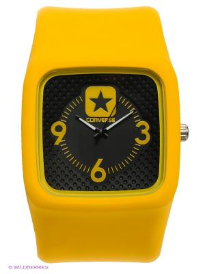 Часы Converse. Цвет: желтый