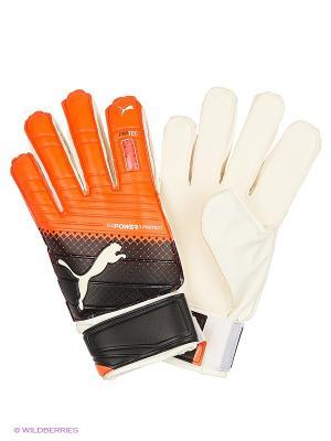 Вратарские перчатки evoPOWER Protect 3.3 Puma. Цвет: красный, черный