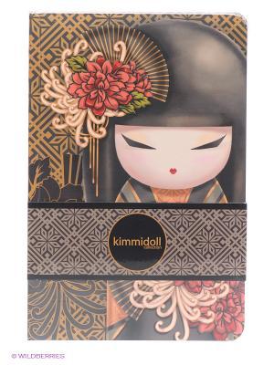Набор записных книжек Тацуйо Kimmidoll. Цвет: коричневый, серый