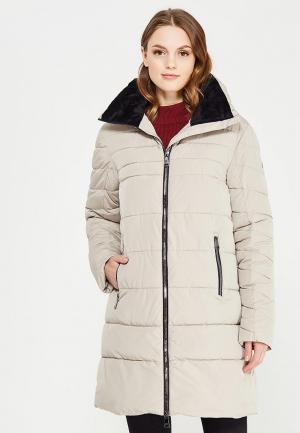 Куртка утепленная Luhta. Цвет: бежевый