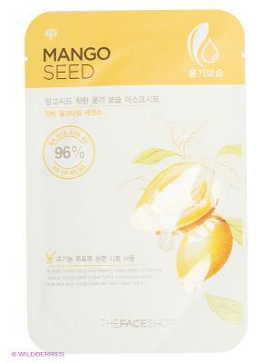 Тканевая маска для лица Mango Seed Moisturizing Mask Sheet, 23 мл The Face Shop. Цвет: прозрачный