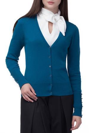 Жакет VILATTE. Цвет: голубой