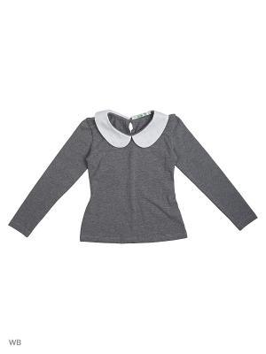 Блузка LIK. Цвет: светло-серый