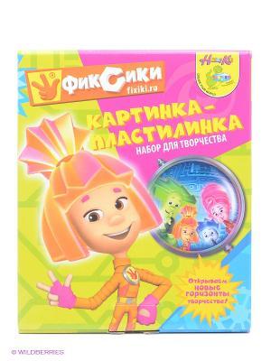 Картинка-пластилинка Фиксики Симка Centrum. Цвет: оранжевый