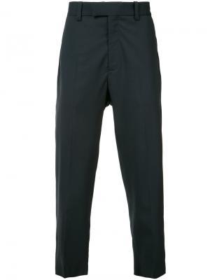 Зауженные брюки Oamc. Цвет: синий