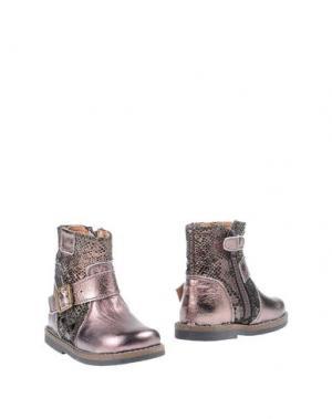 Полусапоги и высокие ботинки OCA-LOCA. Цвет: бронзовый