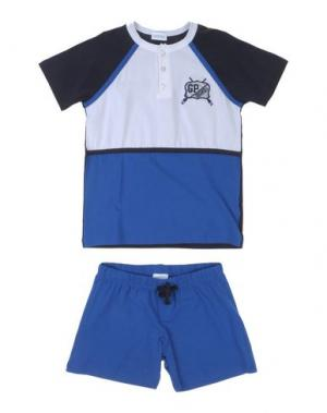 Пижама GRIGIO PERLA. Цвет: синий