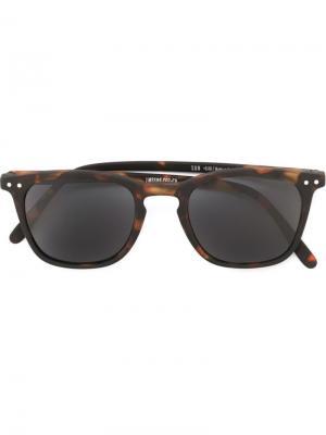 Солнцезащитные очки See Concept. Цвет: коричневый