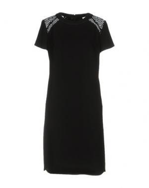 Короткое платье STILLS. Цвет: черный