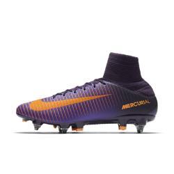 Футбольные бутсы для игры на мягком грунте  Mercurial Veloce III Dynamic Fit SG-PRO Nike. Цвет: пурпурный