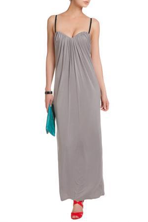 Платье D.Exterior. Цвет: серый