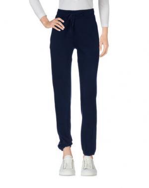 Повседневные брюки ZHELDA. Цвет: темно-синий