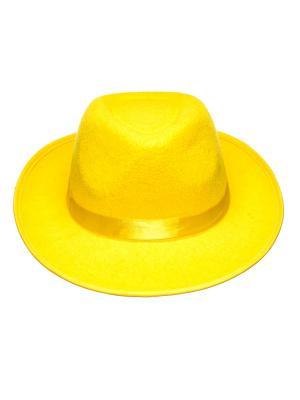 Шляпа Rio. Цвет: желтый