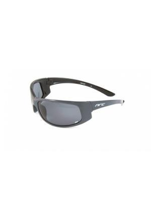 Солнцезащитные очки NRC. Цвет: черный, серый