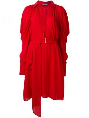 Платье Alkai La Mania. Цвет: красный