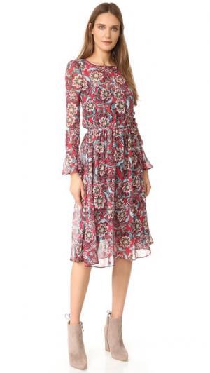 Платье Naima Sam & Lavi. Цвет: темно-синий