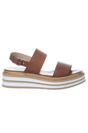 Sandals Loretta Pettinari. Цвет: brown, white, beige