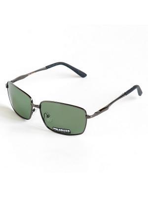 Солнцезащитные очки Selena. Цвет: зеленый, серый, черный